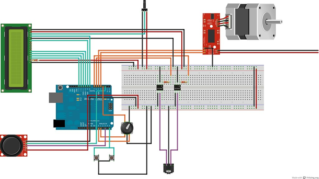 3d Printer Limit Switch Wiring Diagram Stackduino An Arduino Diy Focus Stacking Controller El
