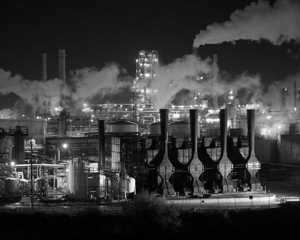 industrial landscape december