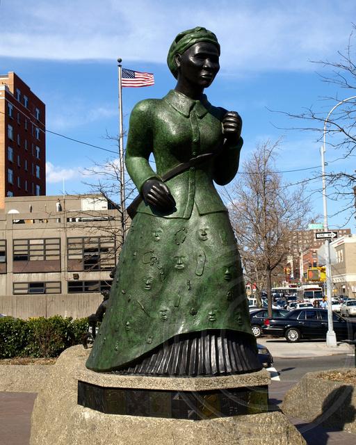 Harriet Tubman Sculpture Harlem New York City Harriet