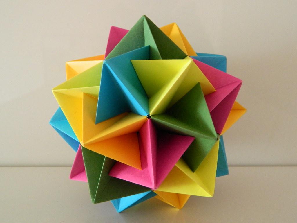 cool modular origami diagram john deere 250 skid steer alternator wiring twinboat icosahedron designer tomoko fuse folder