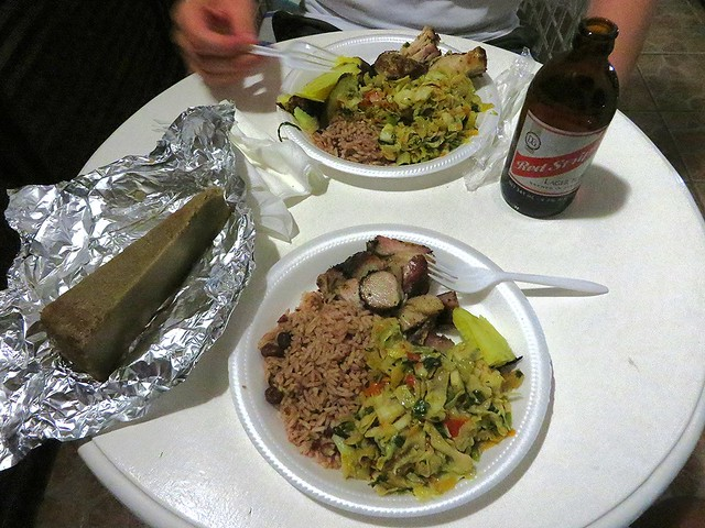 jerk pork, jamaican food, best restaurants in ocho rios, best food in jamaica, traditional jamaican food