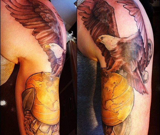 Wrapped This One Up Today Theinkery Usmc Eagle Globe Anchor