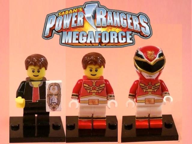 Megaforce Red LEGO Custom Minifig Of Red Megaforce