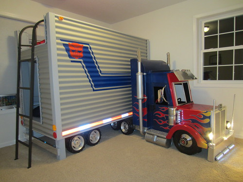 Brayden39s Optimus Prime Transformer Bed Final Dave Scha