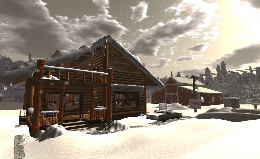 Winter Survival Game by Extension  A game in Second Life