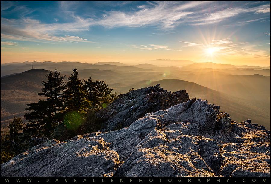 Fall Mountain Scenery Wallpaper Grandfather Mountain Sunset Blue Ridge Parkway Western Nc