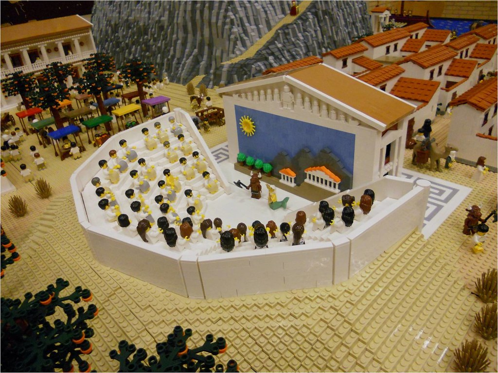 greek stage diagram 2006 wrx wiring lego ancient theatre part of