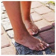 Barefoot Street Shot Nice Toes