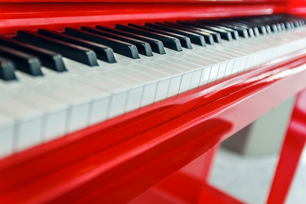 Red Piano  Red Piano at Charles de Gaulle Airport Paris