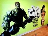 Hulk Gym | www.graffitipros.co.uk | Tom Keeling | Flickr