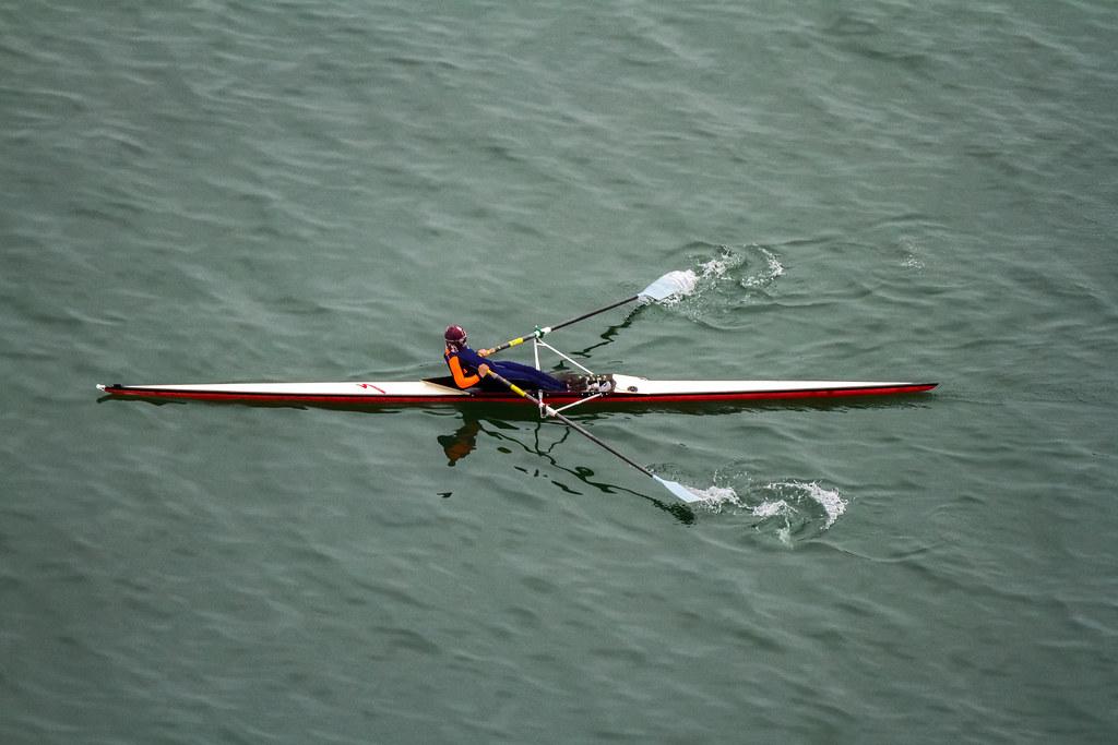Single Scull Rowing   Hong Kong Water   Flickr