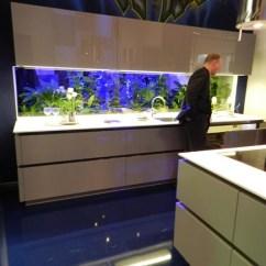 German Kitchen Cabinets Antique Fish Tank As A Backsplash - Bauformat Kitch ...