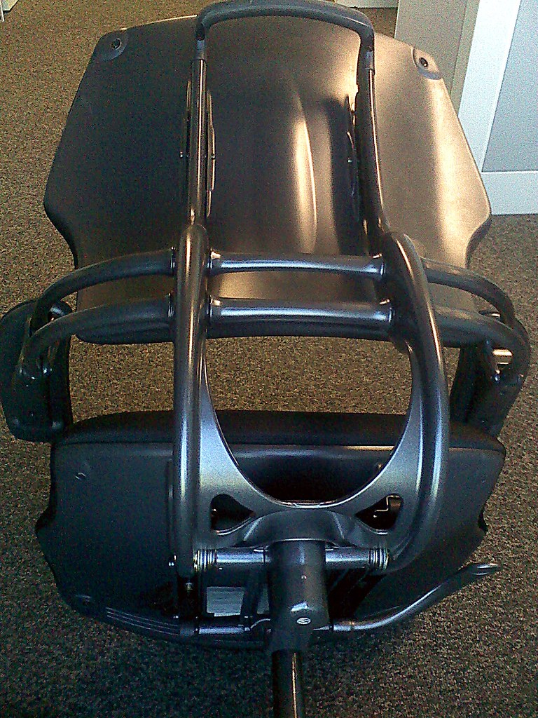 humanscale diffrient world chair white posture toilet stool adjusting reclining tension in freedom task | flickr