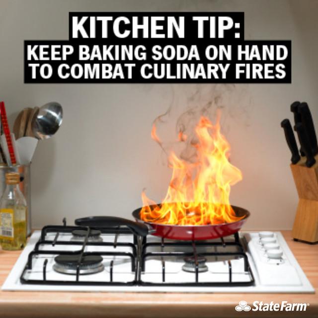 Kitchen Fire Safety Tip Baking Soda  Flickr  Photo Sharing