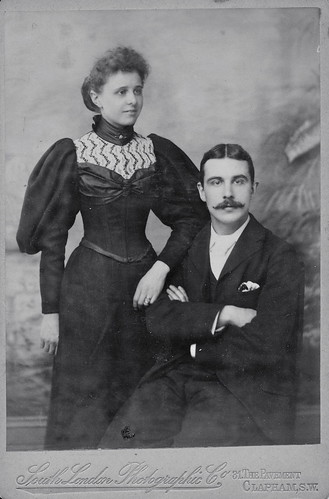 Lovely Victorian Couple South London Photographic Co 81