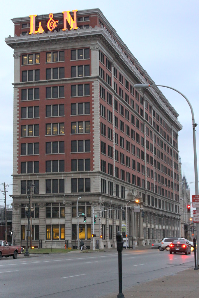 Louisville and Nashville Railroad Office Building  The