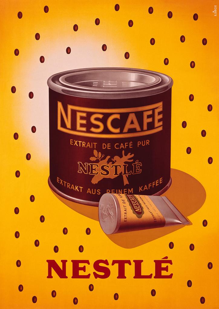Grfica Nescaf  Suiza aos 40  Una marca Nestl que