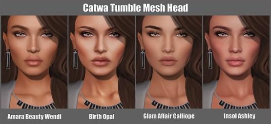Catwa Tumble Mesh Head