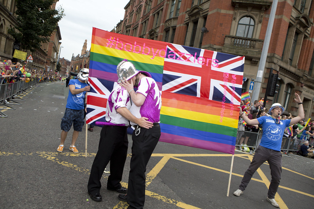 Manchester Pride 2016  Officers and staff of Greater