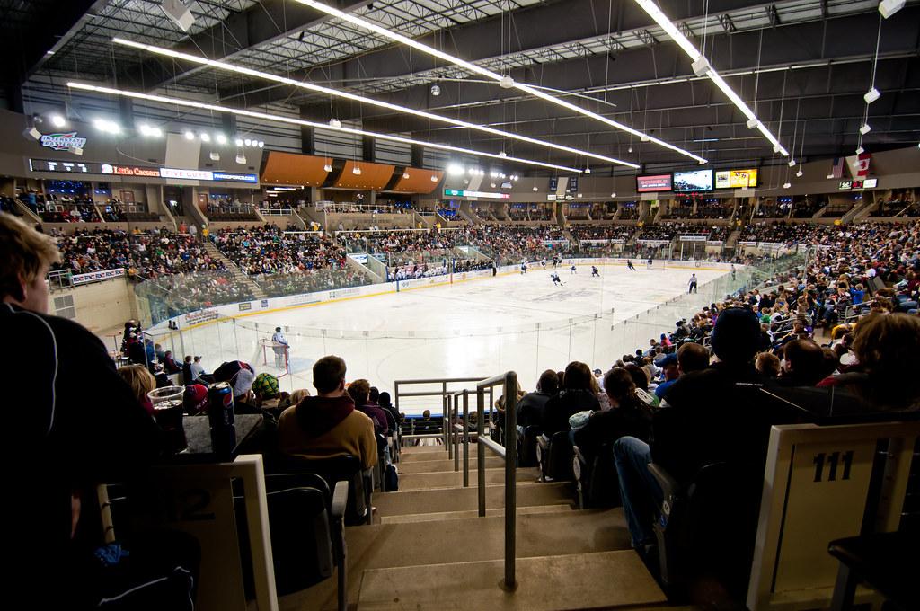 Scheels Arena 2010 9  Fargo Force Hockey at the Scheels