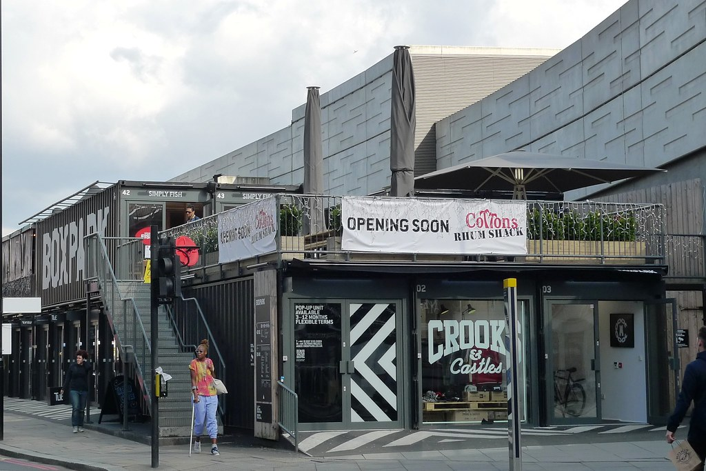 BoxPark Shoreditch E1  A popup mall nestled