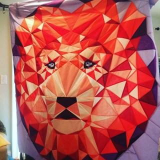 Violet Craft lion