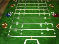 Football Field Carpet By ATC   A custom football field ...