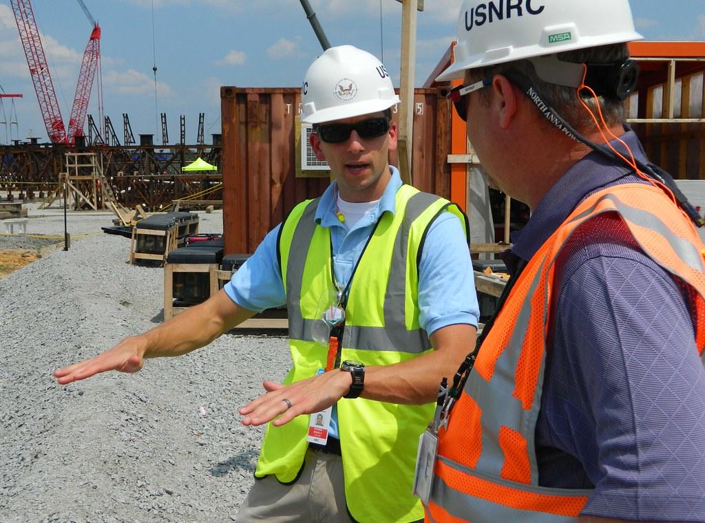 NRC Resident Inspector at the Summer New Reactor Construct  Flickr