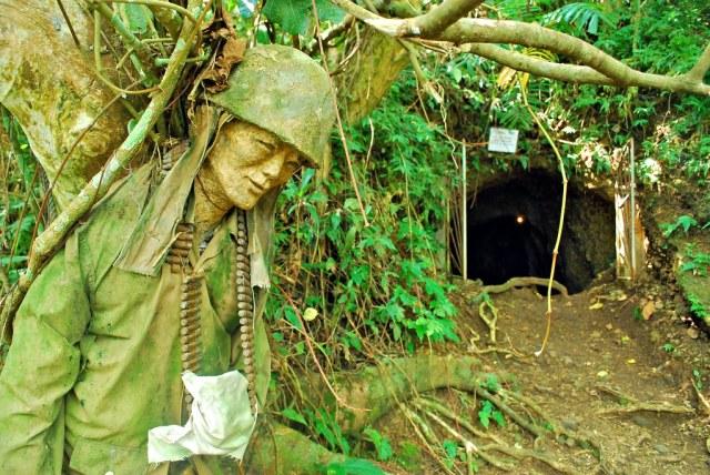 Japanese tunnels in Legazpi, Albay