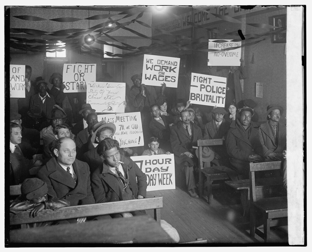 Unemployment Rally in DC 1930  1  Unemployment rally at l  Flickr