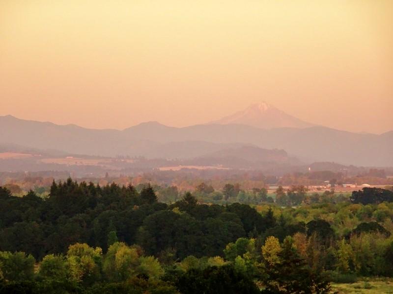 Oregon sunset - the tea break project solo travel blog