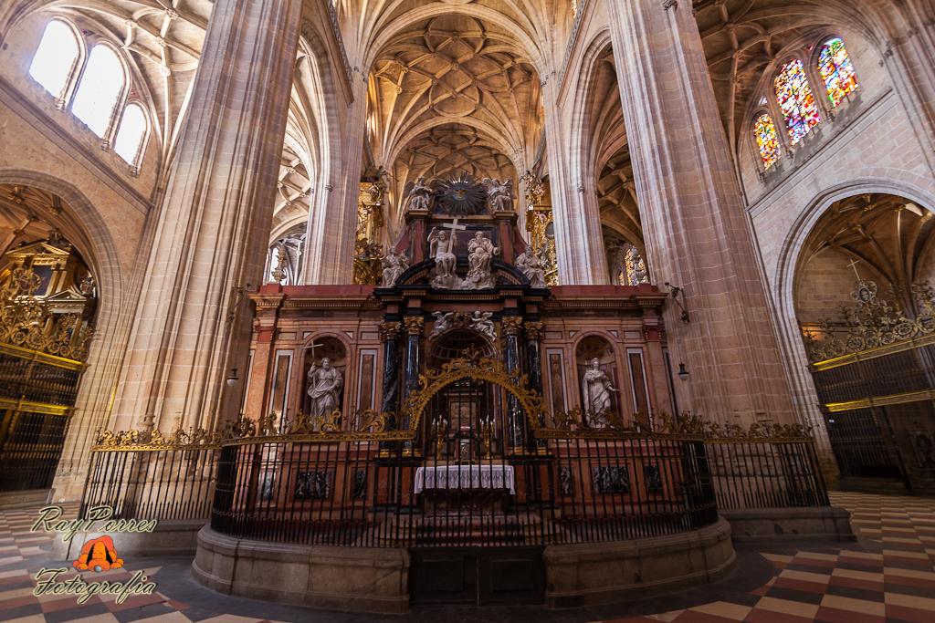 Interior de la Catedral de Santa Mara Segovia Castilla