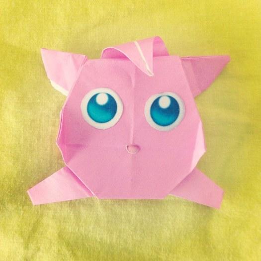 Jigglypuff Origami Tutorial Origami Handmade