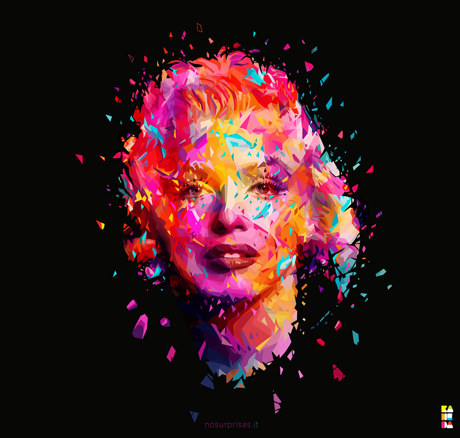 Wallpaper 3d Abstract White Marilyn Rework Marilyn Www Nosurprises It New Fb Page