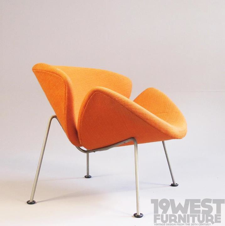 orange slice chair that folds into bed new arrival an designed in 1959 by pi flickr pierre paulin for artifort
