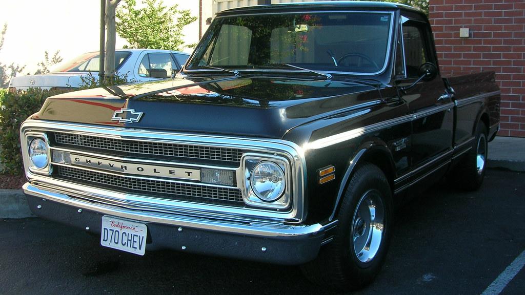 1970 Chevrolet CST 10 Pickup Custom D70CHEV 1