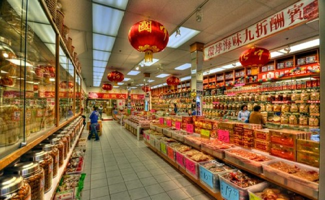 Chinese Grocery Store San Fransisco Phil Ostroff Flickr