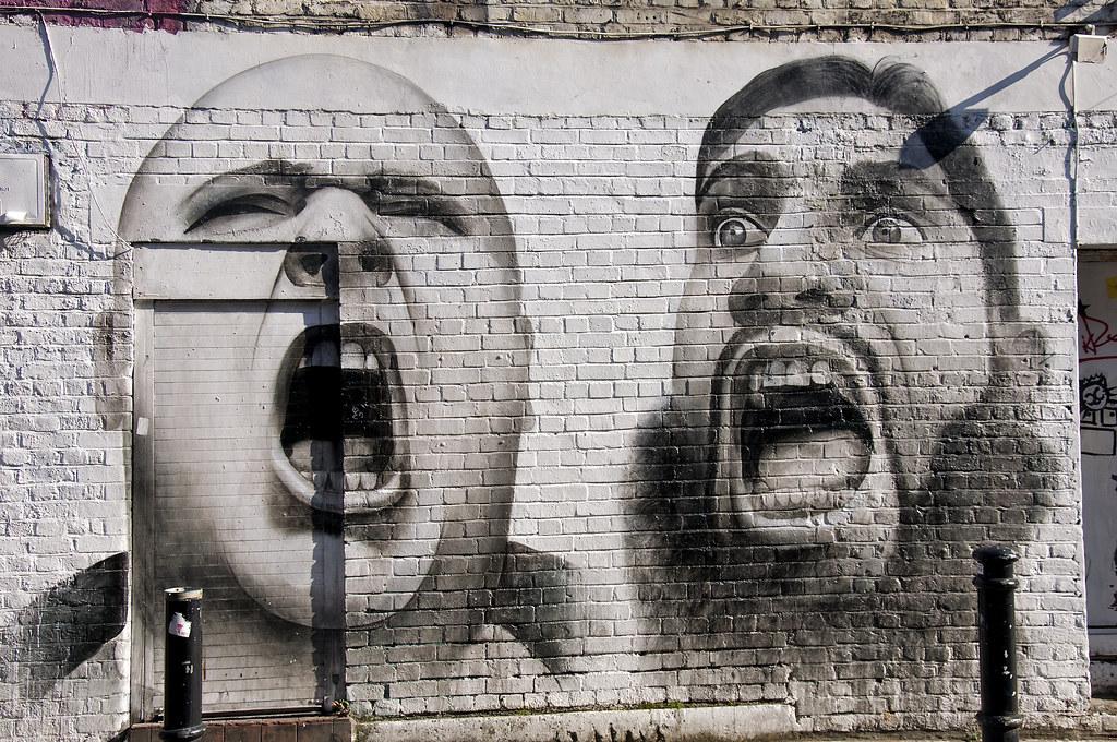 Brick Lane Graffiti  Graffiti found on and around Brick