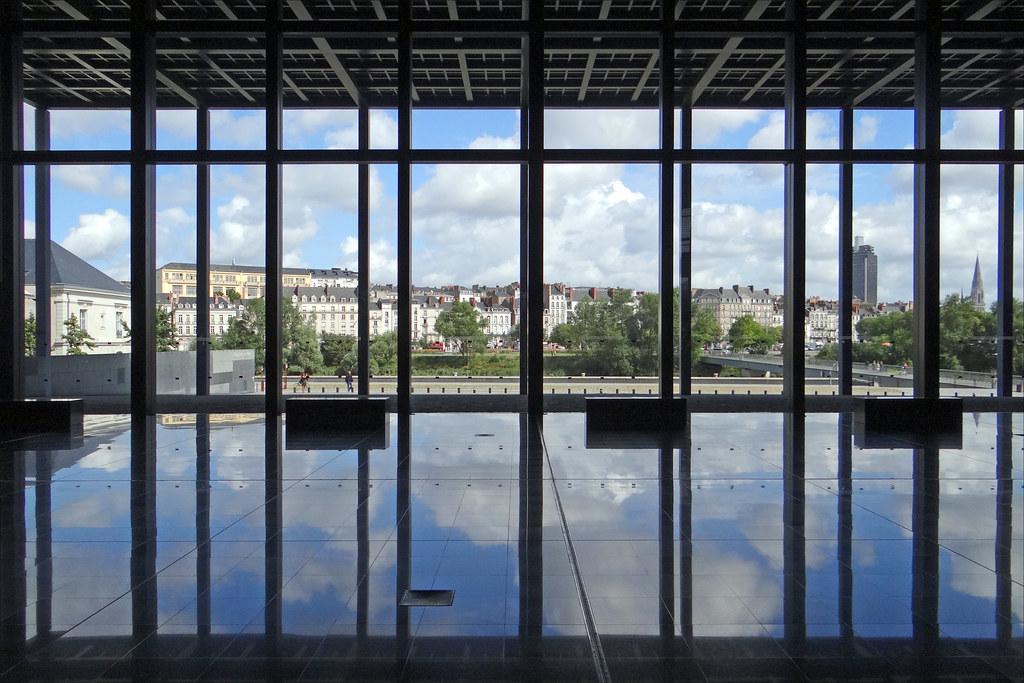 Le Palais de Justice Nantes  Vue de Nantes depuis la sall  Flickr