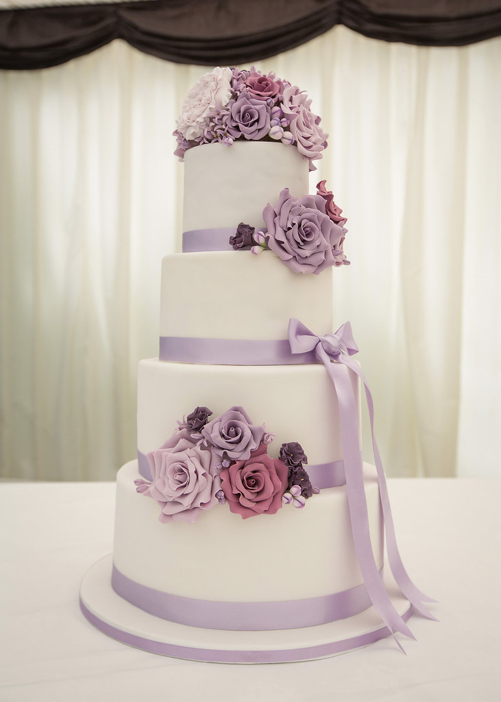 Lilac Wedding Cake  On June 20th of this year I got married  Flickr