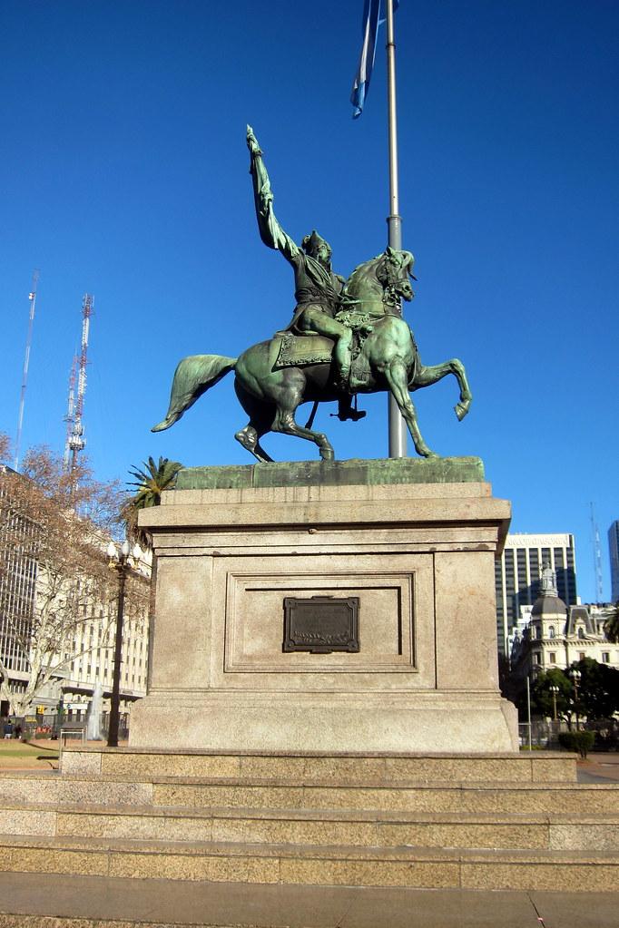 Buenos Aires  Monserrat Plaza de Mayo  El Monumento ecu  Flickr
