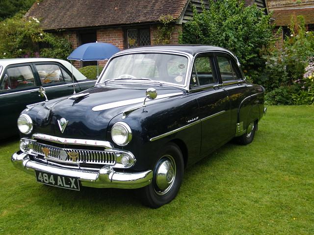 1950 Vauxhall Velox Interior