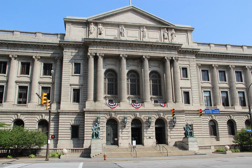 Cuyahoga County Courthouse Cleveland Ohio  Historic Cuya  Flickr
