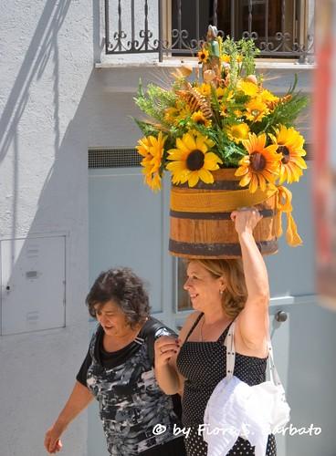 Frigento AV 2012 Festa e Processione dei mezzetti in