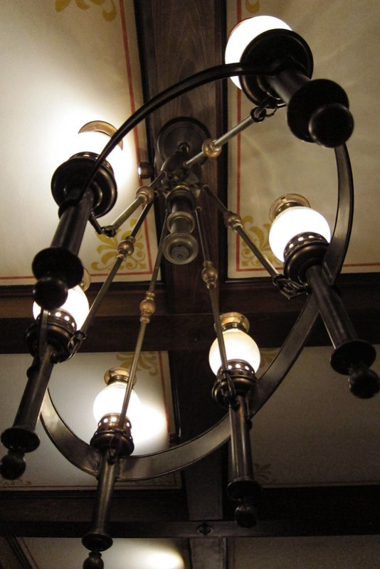 hiden mics in the lamps