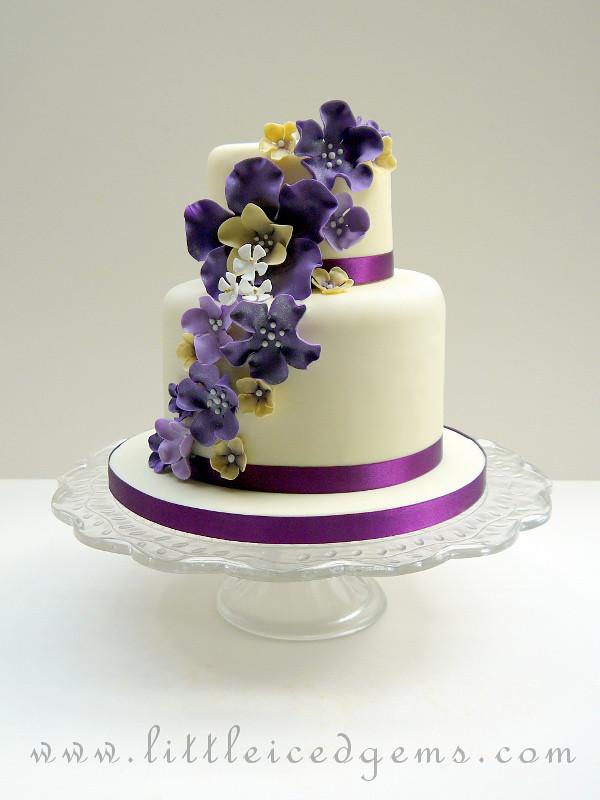 Two Tier Wedding Cake Jess Mistry Flickr