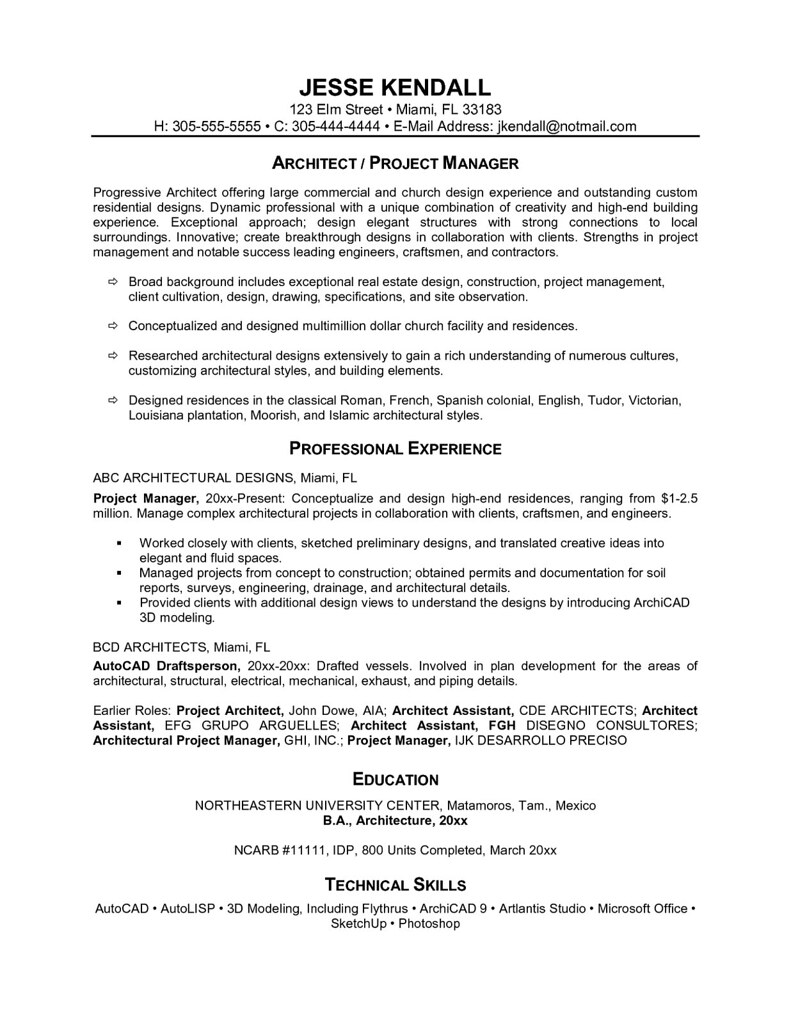 Example One Page Resume - Examples of Resumes