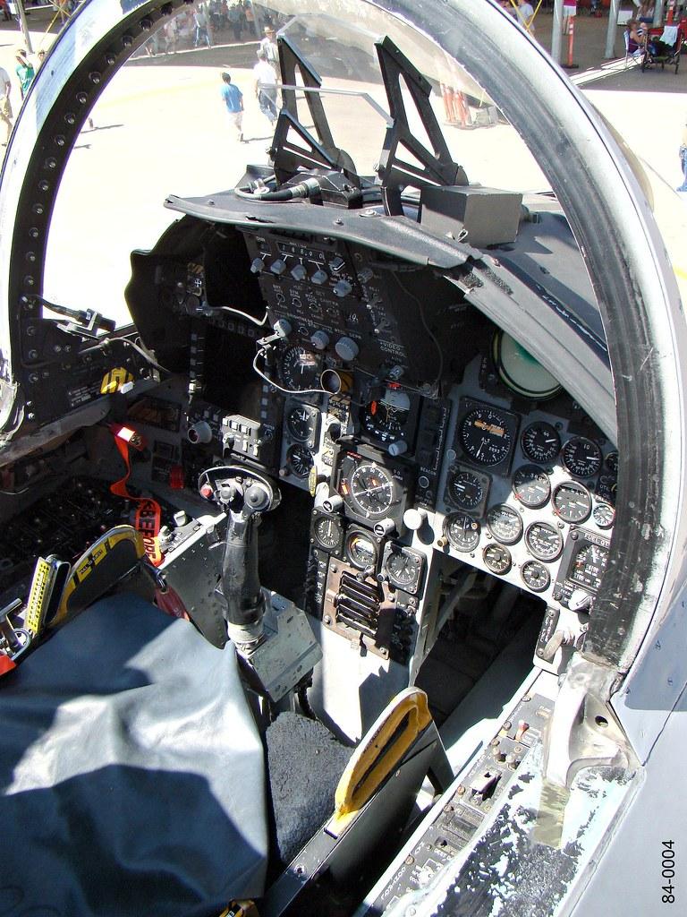 120th FW McDonnellDouglas F15C Eagle 840004  Cockpit  Flickr