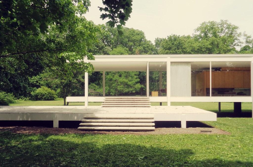 Casa Farnsworth Ludwig MIES VAN DER ROHE Plano  Rodrigo Rama  Flickr