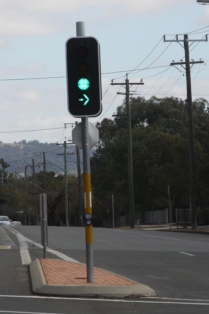 Wacky NSW Traffic Lights If They Have A Single Green